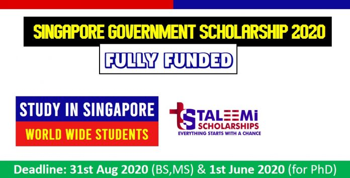 Fully Funded Scholarships in Singapore 2020