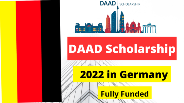 DAAD Scholarship 2022 in Germany Fully Funded