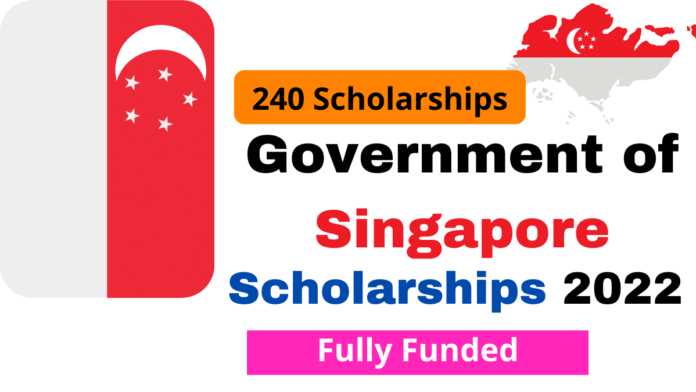 Government of Singapore Scholarships 2022   Fully Funded