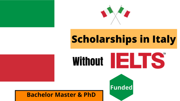Scholarships in Italy Without IELTS | Funded