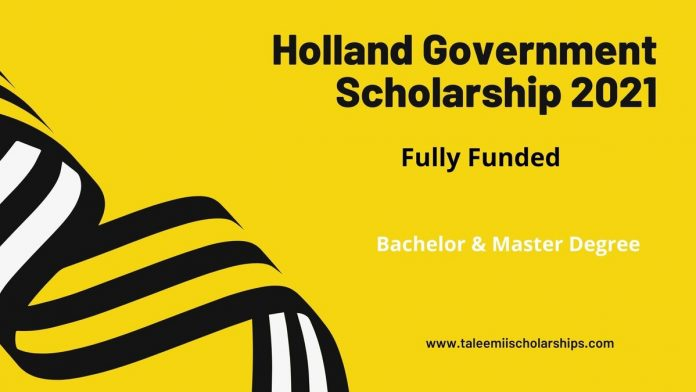 Holland-Government-Scholarship -2021