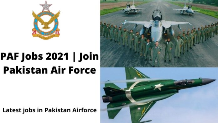 PAF-Jobs-2021-join-Pakistan-air-force