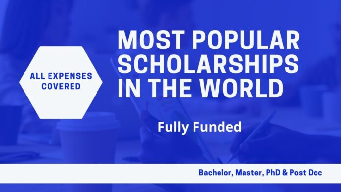 Most-Popular-Scholarships-in-the-World-Fully-Funded